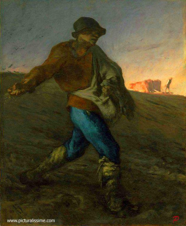 Jean-François Millet  _semeur_l [1280x768]