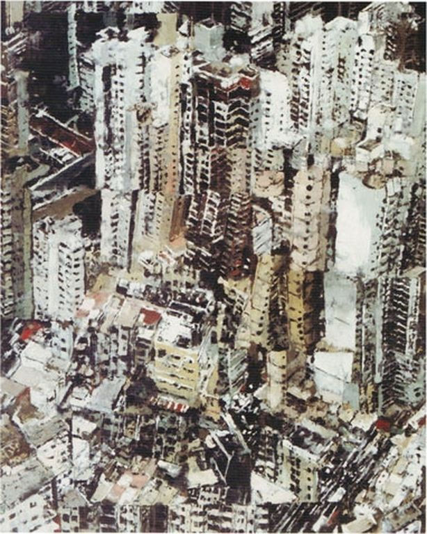 Philippe Cognée  ville cendres [1280x768]