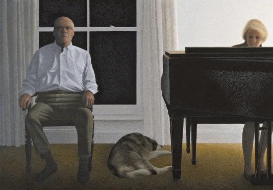 Alex Colville -living-room