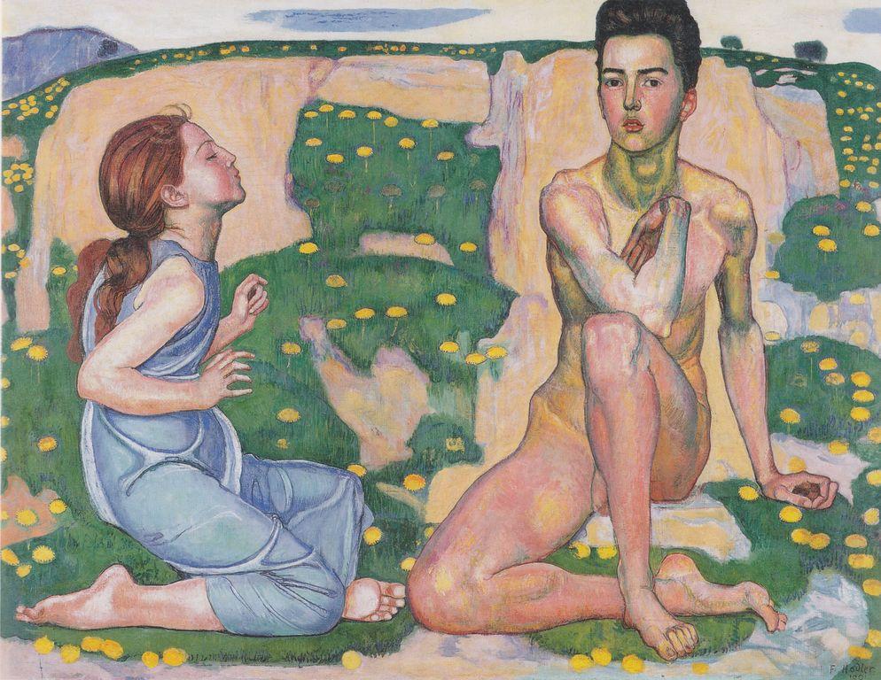 Ferdinand Hodler   Spring [1280x768]
