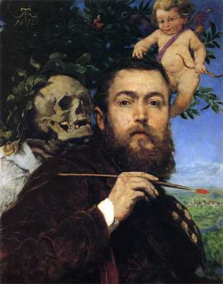 Hans Thoma Self-portrait_with_Love_and_Death_by_Hans_Thoma