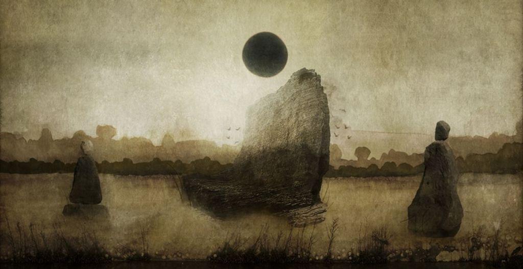 Talon Abraxas 1980 - British Surrealist painter -  ) [1280x768]