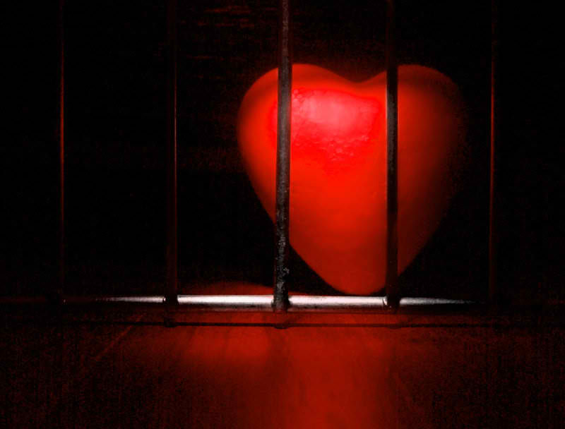 coeur en prison υ