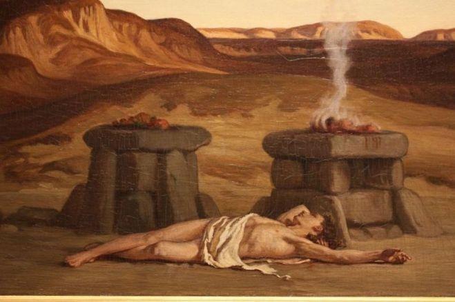 Elihu Vedder   La mort d'Abel [1280x768] [800x600]