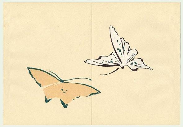 Kamisaka Sekka-1866-1942papillon