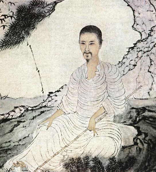Shitao -autoportrait