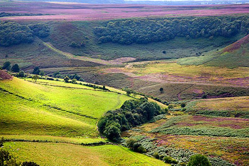 Hole of Horcum North York Moors Yorkshire England