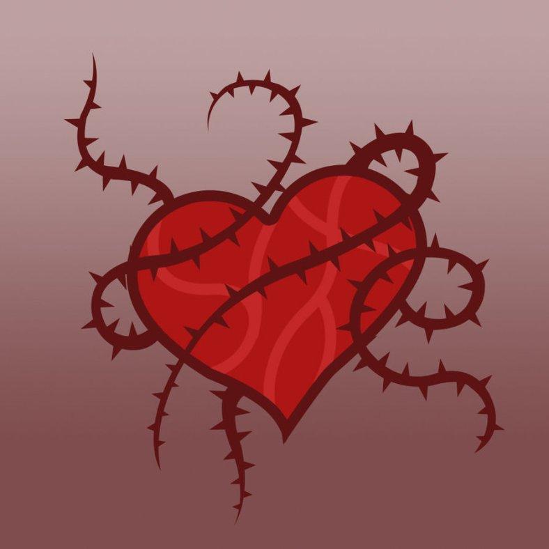 épine au coeur