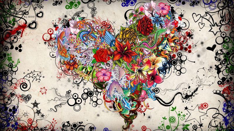 Flower-Heart  [800x600]