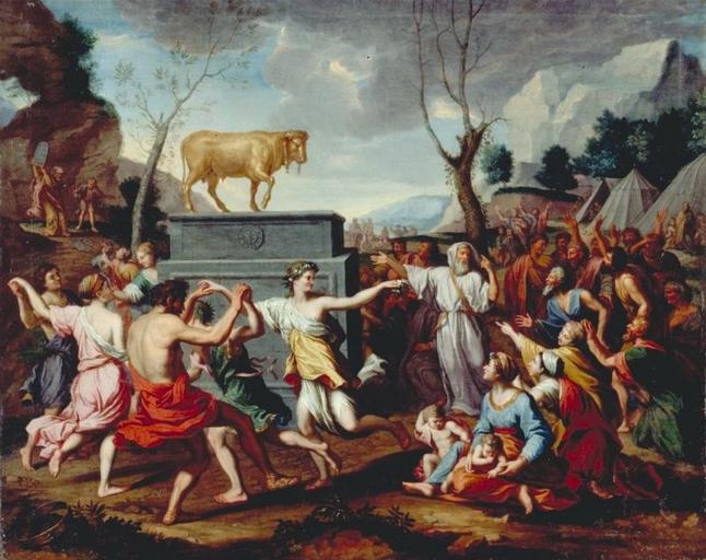 Nicolas Poussin veau d'or p