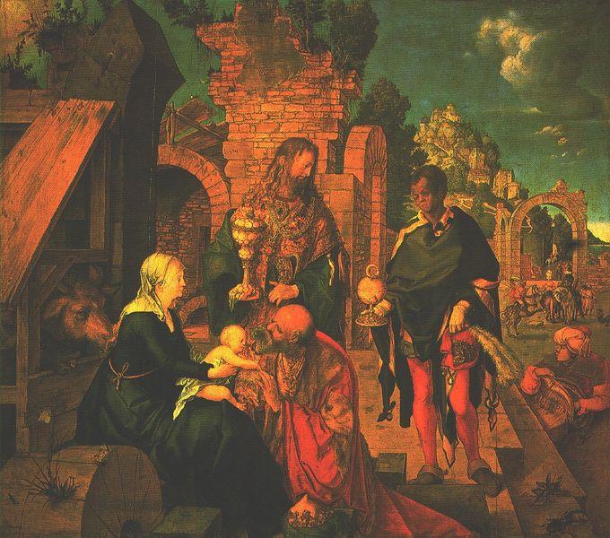 Albrecht Durer - Les rois mages [800x600]