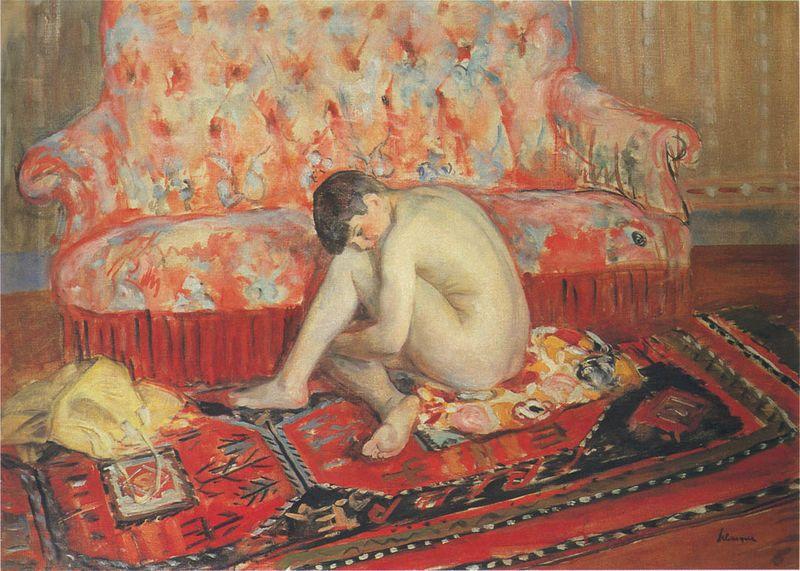 Henri Lebasque nu-sur-tapis-rouge-date-inconnue-henri-lebasque [800x600]