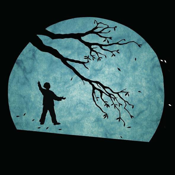 Mélusine Thiry  enfant dans la lune