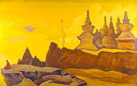 Nicholas Roerich sanga-chelling-1924