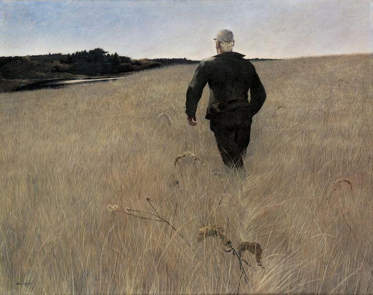 Andrew Wyeth  Turkey Pond [800x600]