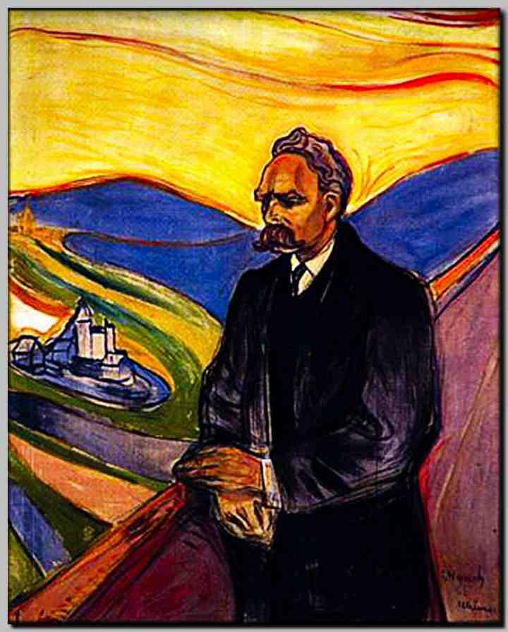 Edvard Munch _ Friedrich Nietzsche