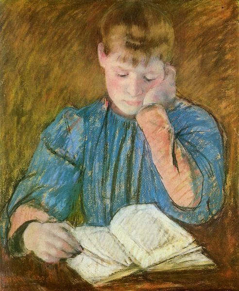 Mary Cassatt the-pensive-reader [800x600]