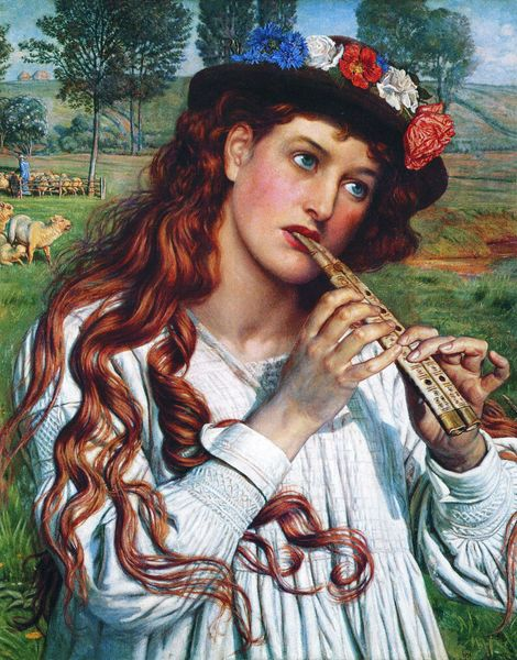 William Holman Hunt _-_Amaryllis [800x600]