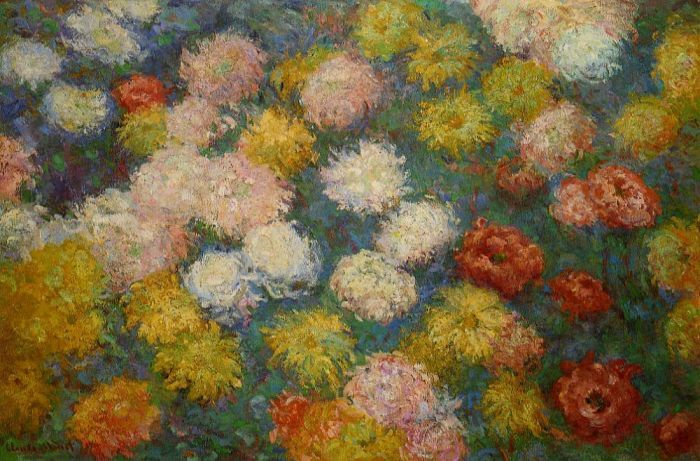 Claude Monet  chrysanthèmes