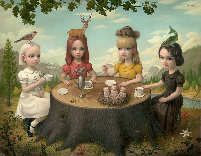 Mark Ryden demoiselles  [800x600]