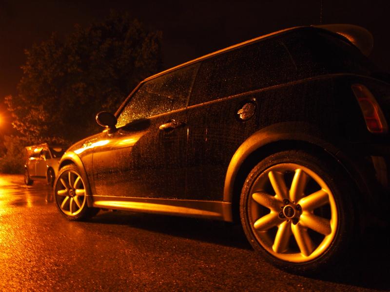 pluie voiture