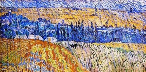 Van Gogh pluieP