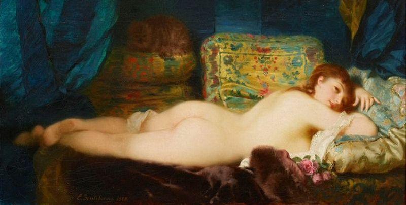 Charles Edouard Boutibonne -flirtatious-inviting-kissable-Femme-Classic-Art-large [800x600]