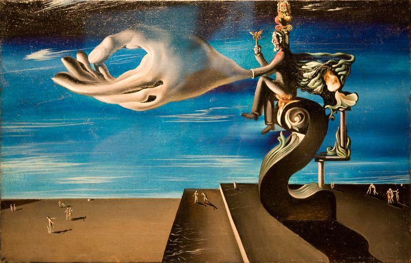 Salvador Dali La-Main-Les-Remords-de-conscience-Salvador-Dali [800x600]