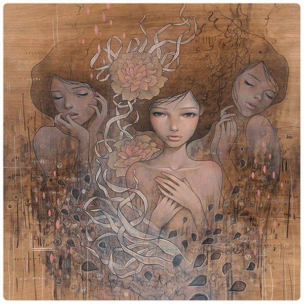 Audrey Kawasaki Paintings-Audrey-Kawasaki-1 [800x600]