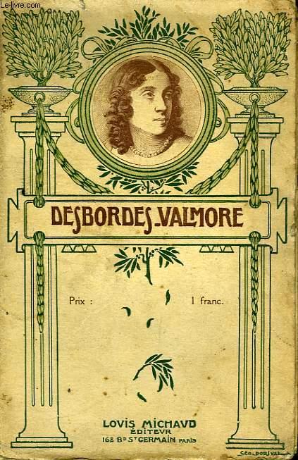 Le livre de Marceline Desbordes-Valmore 1