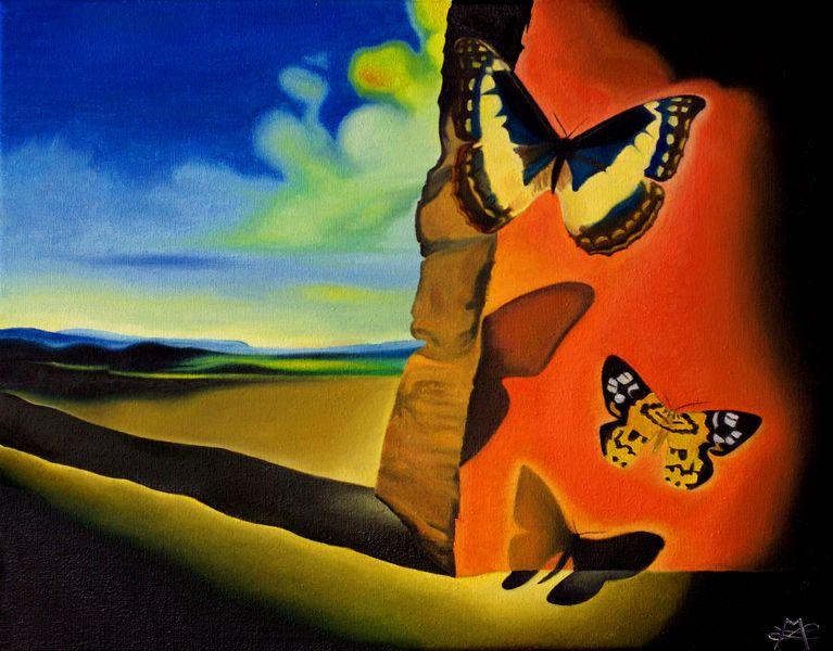 Salvador Dali papillons s [800x600]