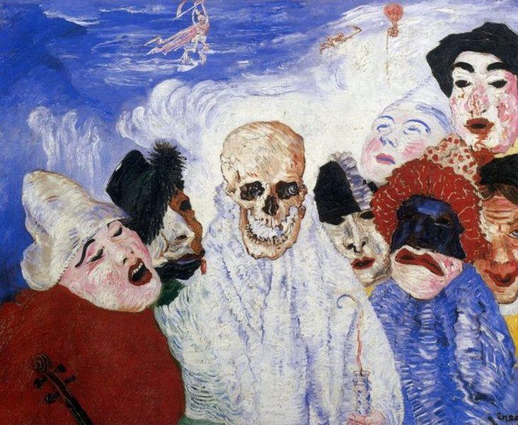 James Mensor  la-mort-et-les-masques [800x600]