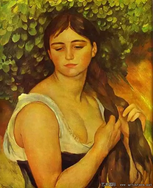 Pierre Auguste Renoir Suzanne Valadon natte97