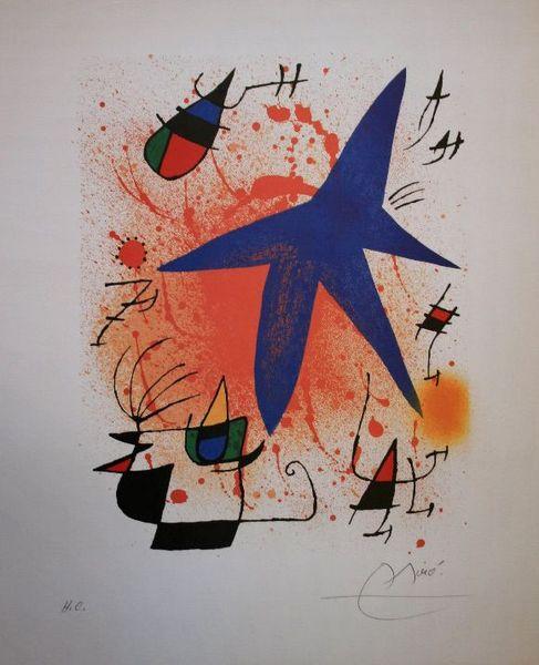 Joan Miró Etoile bleue