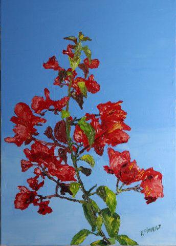 arbuste-fleurs-rouges